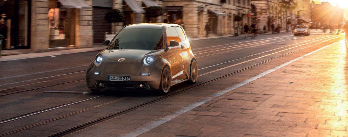 В Германии запустят в серию бюджетный городской электрокар e.GO Life