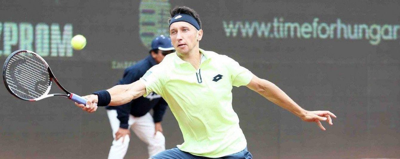Украинец Стаховский пробился в 1/8 финала теннисного турнира в Узбекистане