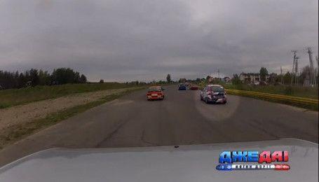 18-летний автогонщик борется за первенство с опытными и бывалыми на чемпионате Украины