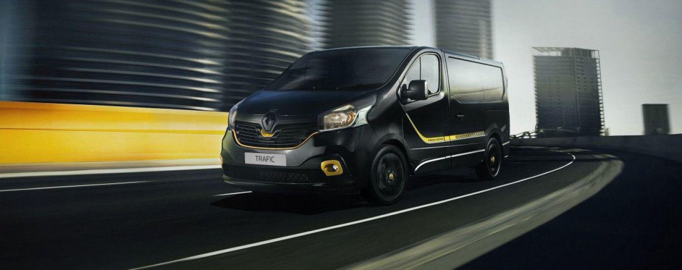Renault Trafic получил спецверсию Formula Edition