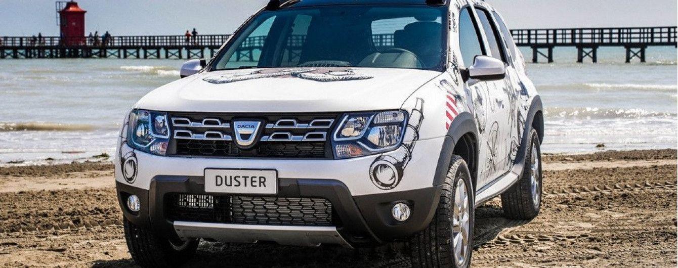 Кроссовер Dacia Duster обзавелся спецверсией Strongman Extra Limited Edition
