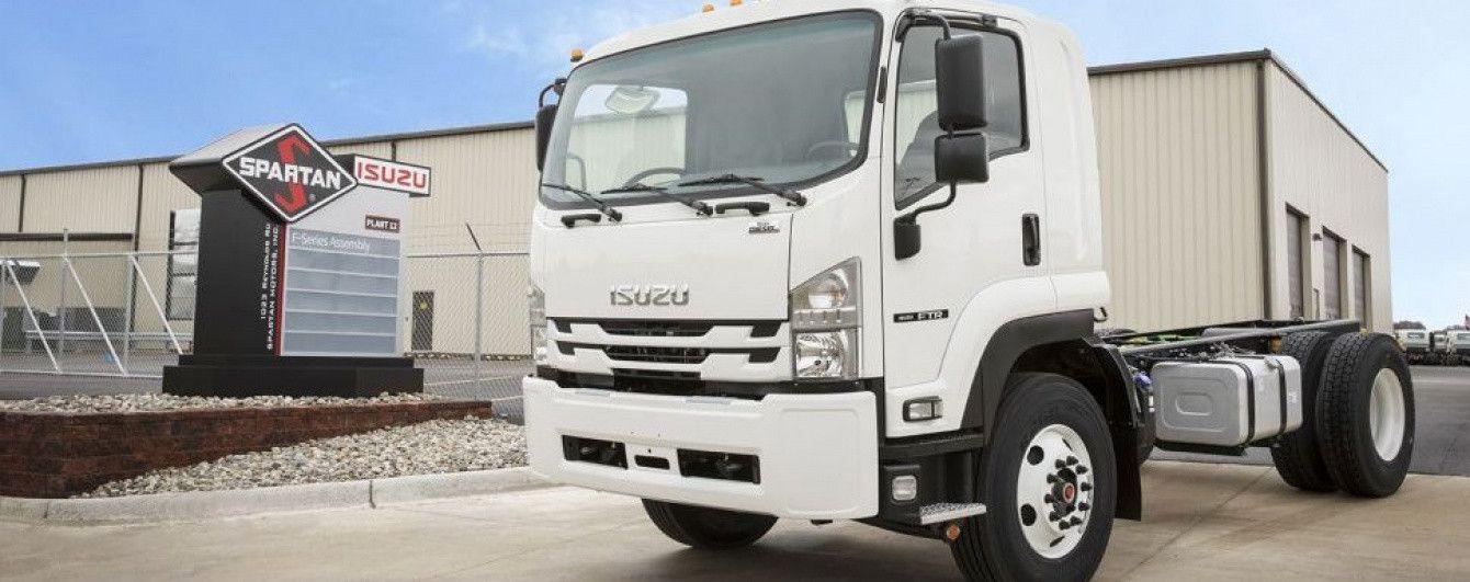 Isuzu запускает в производство обновленный грузовик средней тоннажности FTR