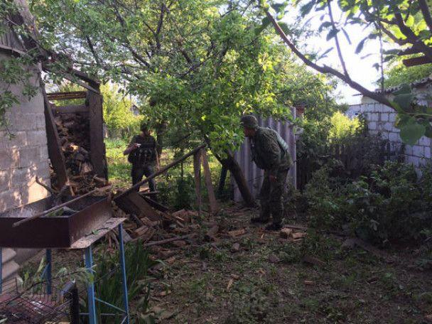 Боевики в очередной раз обстреляли Авдеевку
