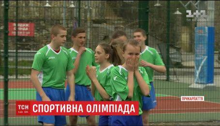 Школярі з Прикарпаття взяли участь у змаганнях, суддями яких були Олімпійські чемпіони