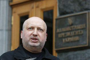 Турчинов анонсував пропуск росіян до України за біопаспортами