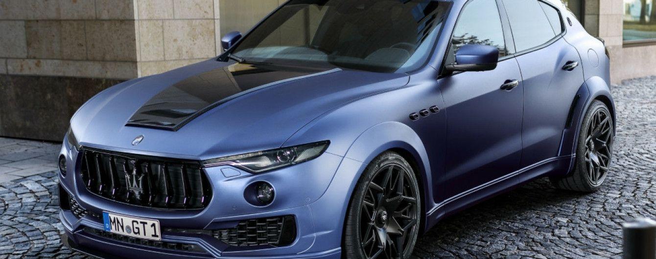Ателье Novitec Tridente поработало над кроссовером Maserati Levante