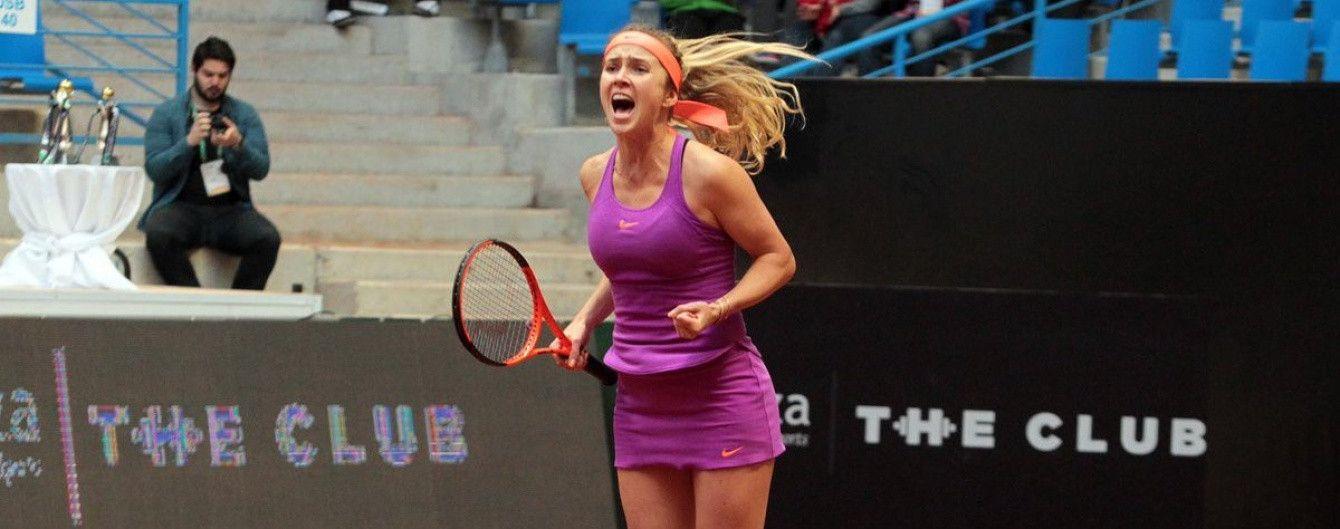 Свитолина пробилась в 1/8 финала престижного турнира в Риме