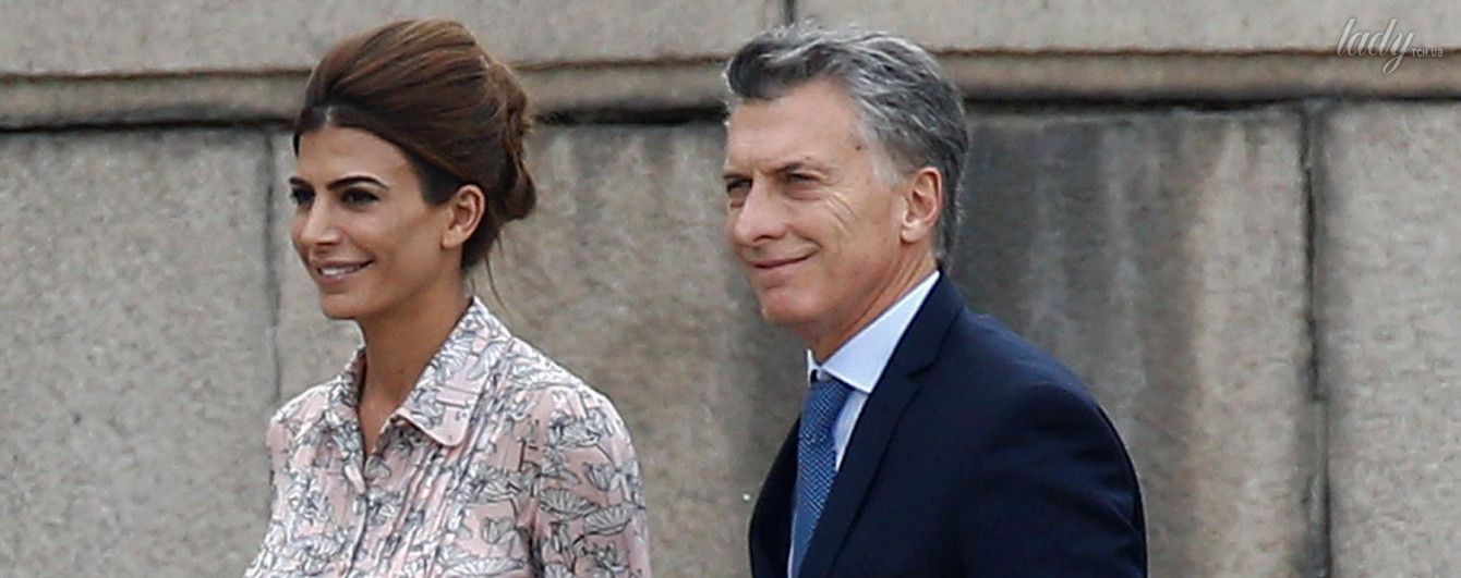 В красивом платье и на шпильках: женственный образ первой леди Аргентины