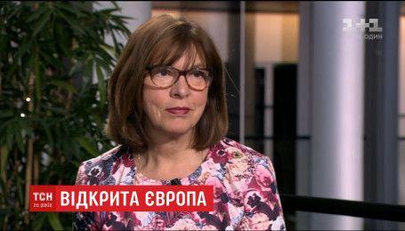 Депутат Европарламента Ребекка Гармс дала для ТСН эксклюзивное интервью