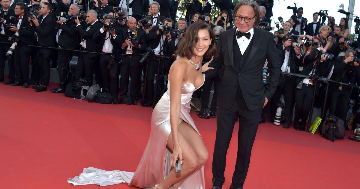 Белла Хадид с отцом @ Getty Images