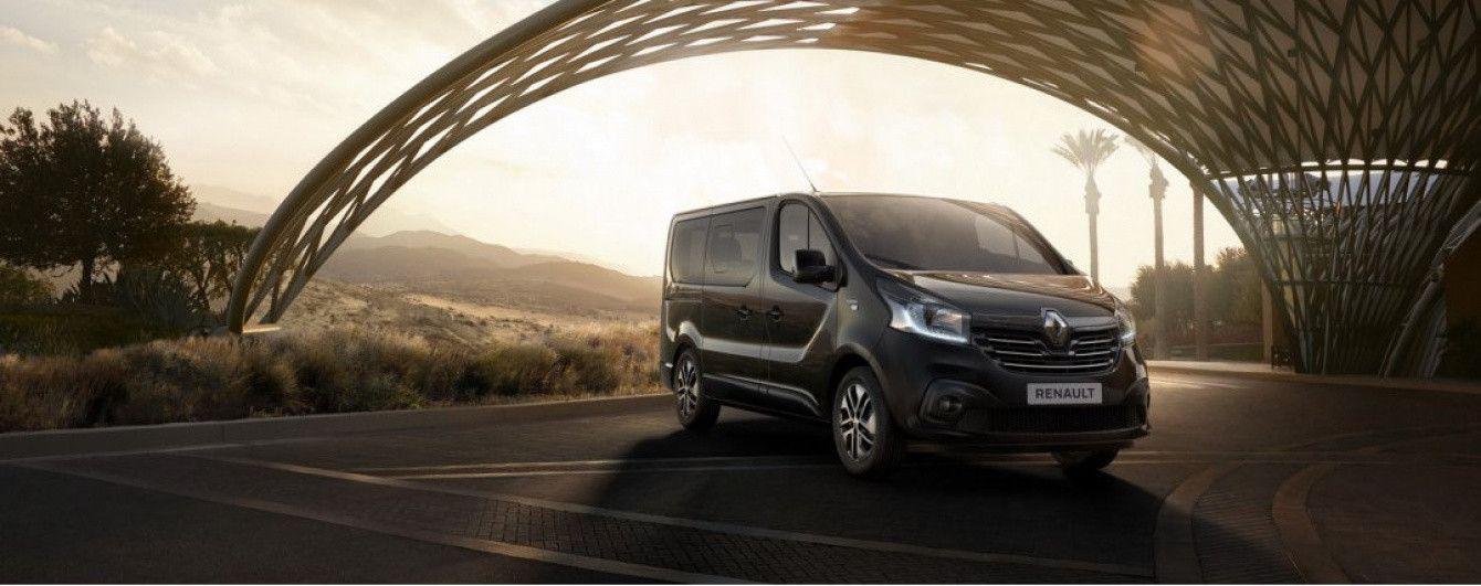 Renault подготовил особый минивэн Trafic SpaceClass