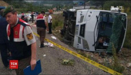 В Турции разбился автобус с украинскими туристами