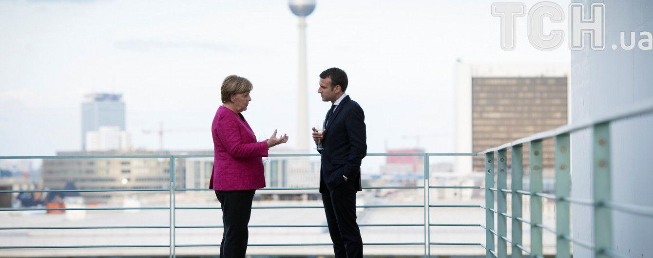 Я люблю немецкий: Кабинет Макрона говорит на языке Меркель — Bloomberg