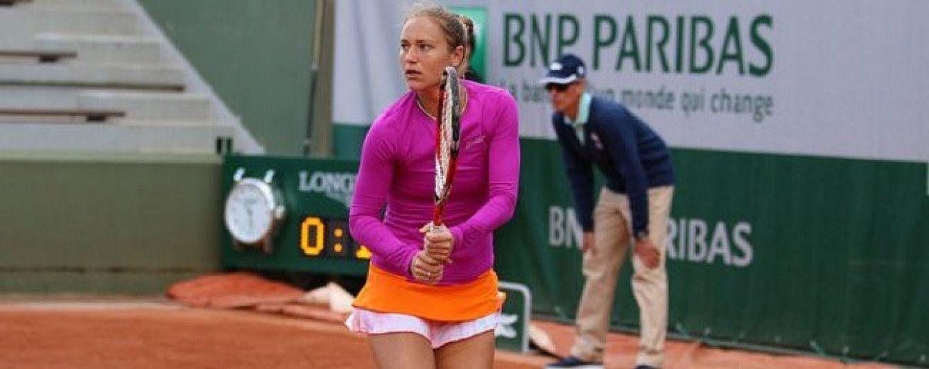 Українка Бондаренко вийшла до чвертьфіналу тенісного турніру в Римі