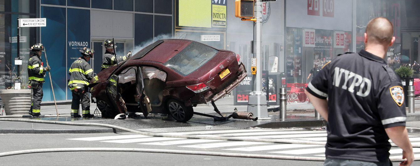 В полиции Нью-Йорка не считают наезд на толпу на Таймс-сквер терактом
