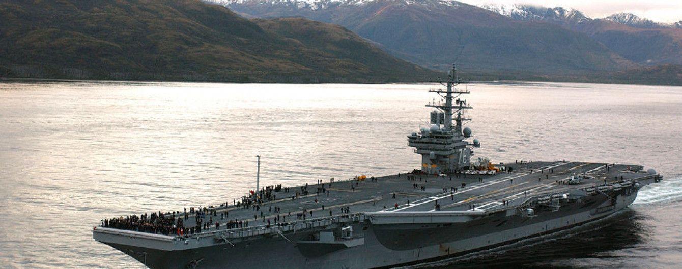 """США направили авианосец """"Рональд Рейган"""" к берегам Корейского полуострова - CNN"""