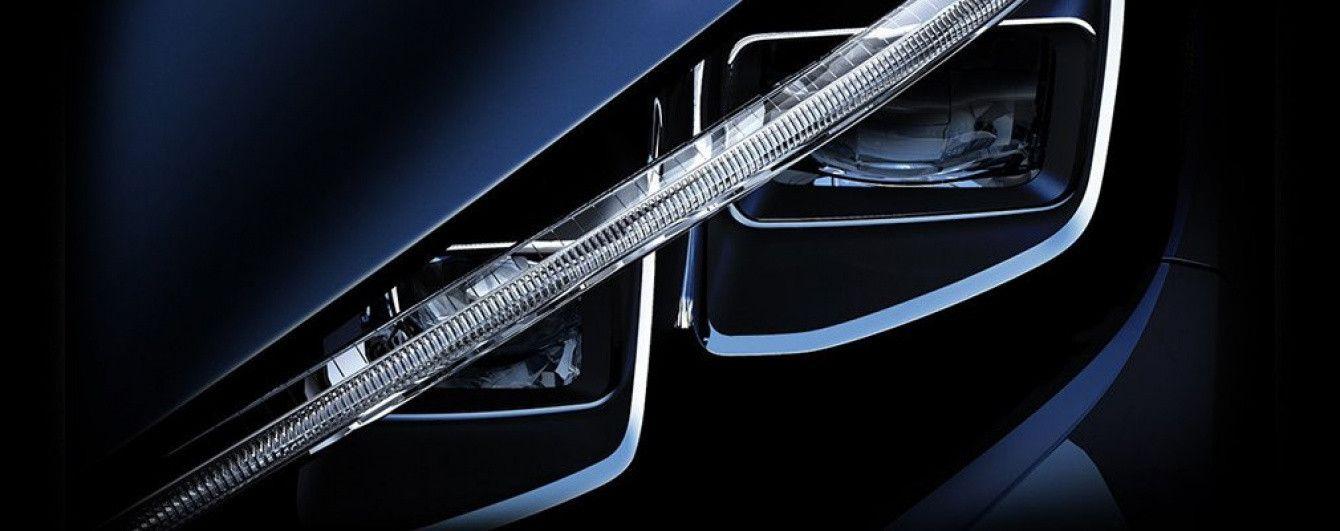 Nissan опубликовал тизерное изображение нового электрокара Leaf