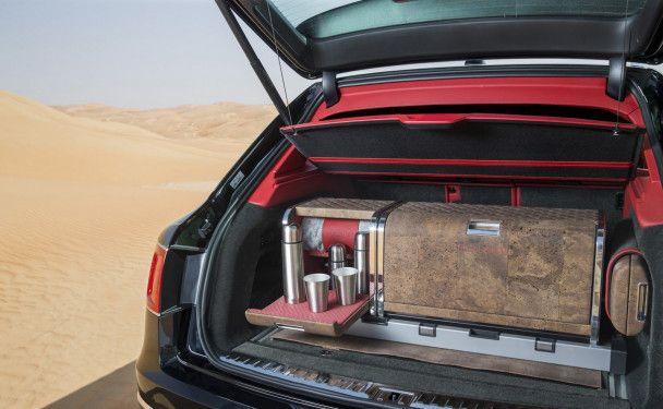 Bentley Bentayga получил набор для любителей соколиной охоты