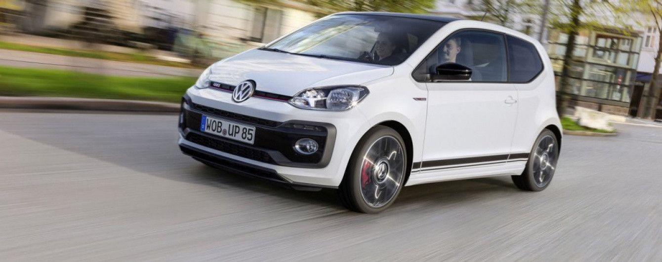 "Volkswagen показал ""заряженный"" сити-кар Up! GTI"