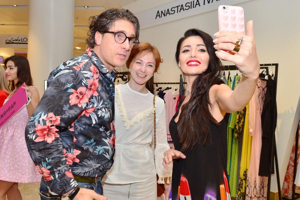 Звездные гости открытия магазина Анастасии Ивановой_3