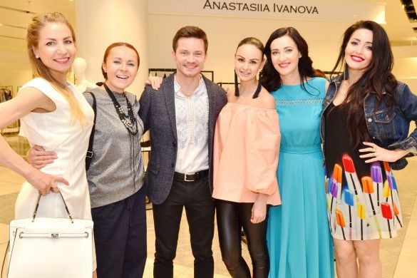 Звездные гости открытия магазина Анастасии Ивановой_6