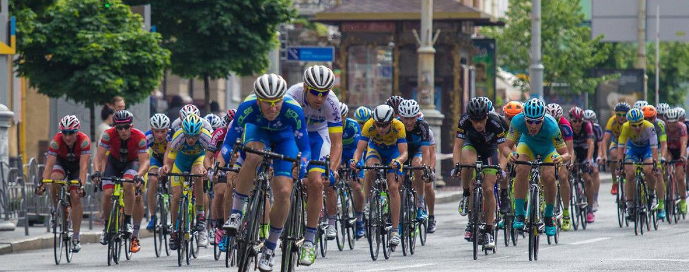 У Києві обмежили рух машин на низці вулиць через велозмагання