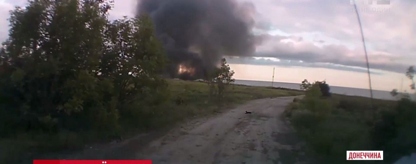 Військові вирахували позиції, з яких російська артилерія обстріляла мирне село Бердянське