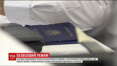 Українці з окупованих територій зможуть скористатися правом на безвізові поїздки
