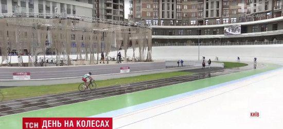 Українська велосипедистка встановила два національні рекорди на велотреку у Києві