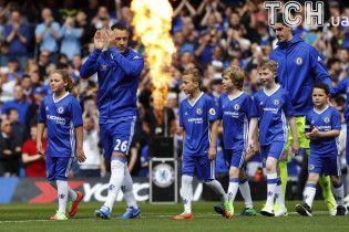 """Фанати """"Челсі"""" вшанували капітана Террі в останньому матчі за клуб"""