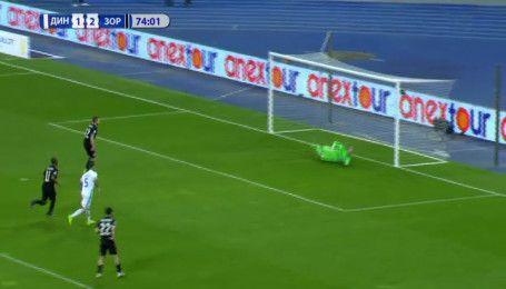 Динамо - Заря - 1:2. Видео нереализованного пенальти Форстера
