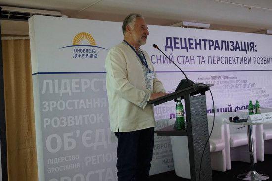 """Жебрівський заявив, що 20% мешканців Донеччини – """"кондові сєпари"""""""