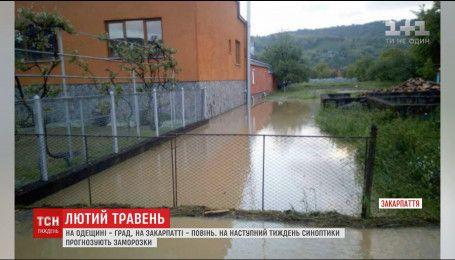 Лютый май: град и наводнения взбудоражили Украину