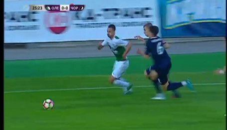Олександрія – Чорноморець - 1:1. Відео-аналіз матчу