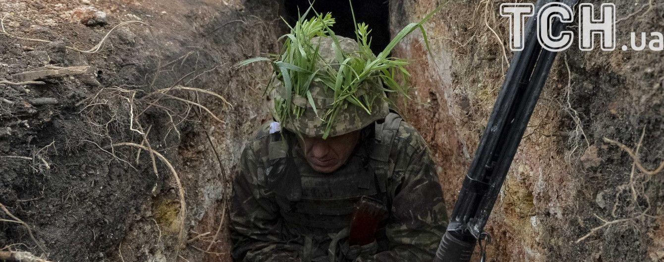 Боевики ранили шестерых бойцов АТО