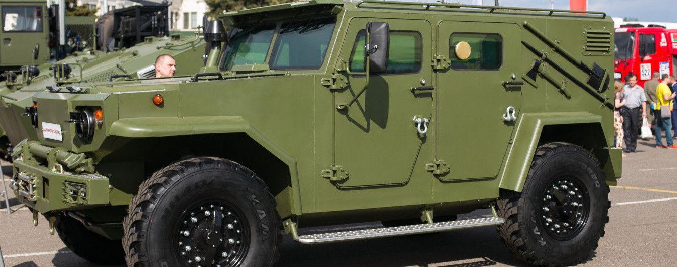 Белорусы представили новый бронеавтомобиль Vitim