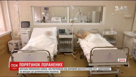 Медики лікарні Мечникова рятують життя шістьом пораненим з передової
