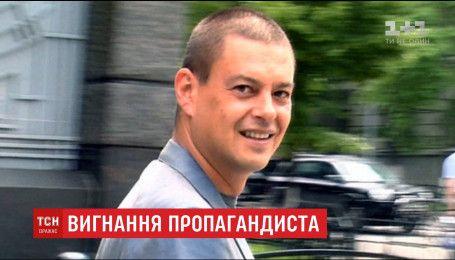Пропагандисту Игорю Шувалову на 5 лет запретили въезд в Украину