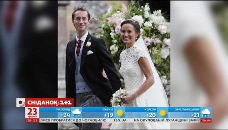 Пиппа Мидлтон и Джеймс Мэтьюс отправились в медовый месяц