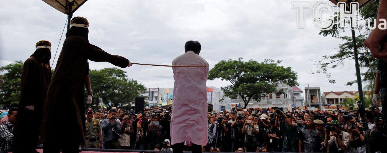 Наказание за гомосексуализм у мусульман