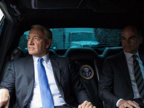 """""""Картковий будиночок"""": екс-фотограф Обами зробив фотосесію """"президенту"""" Кевіну Спейсі"""