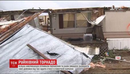 Північна Кароліна постраждала від руйнівного торнадо
