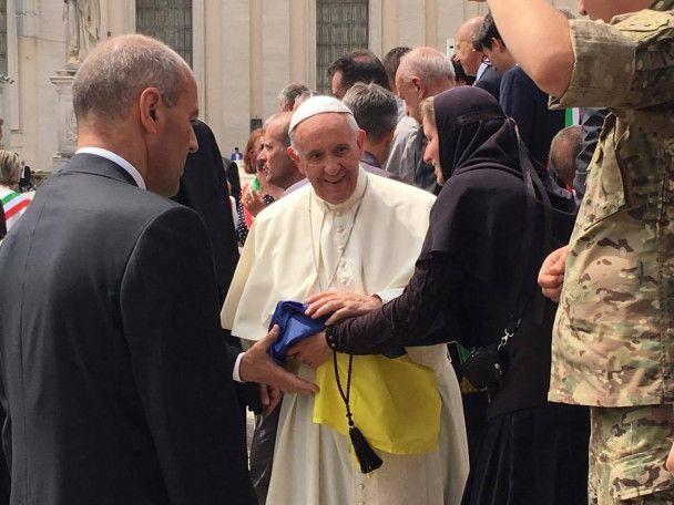 Папа Римський помолився замир вУкраїні