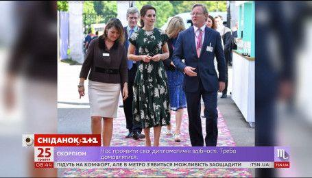 Королевская семья посетила легендарную выставку садов в центре Лондона