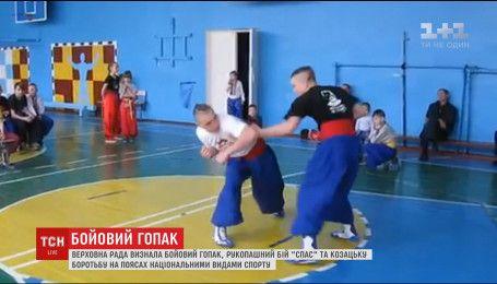 """ВР визнала рукопашний бій """"Спас"""" і козацьку боротьбу на поясах національними видами спорту"""