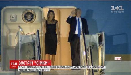 """Лідери """"Великої сімки"""" з'їжджаються до сицилійського міста Таорміна"""