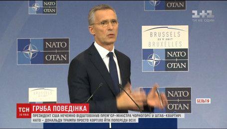 Єнс Столтенберг заявив про посилення партнерства НАТО з Україною