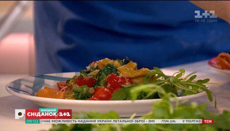 Готовим итальянскую пасту с лимонным соусом из украинских продуктов