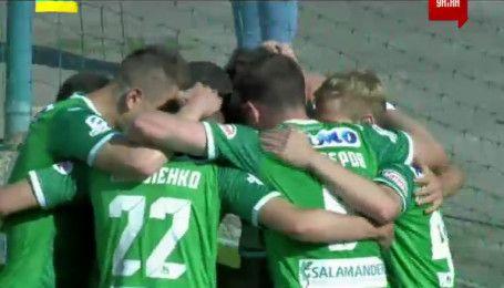 Волинь - Карпати - 0:1. Відео голу Гуцуляка