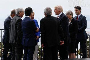 Меркель констатувала провал саміту щодо клімату і єдність G7 щодо України